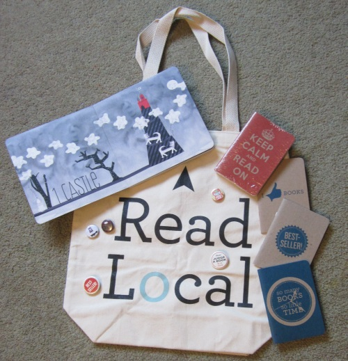 Love Lit Tote, Notebooks, Badges and BabyLit Dracula