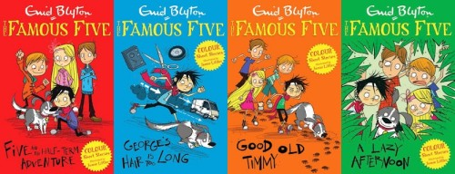 Famous Five Colour Short Stories: Enid Blyton & Jamie Littler (Hodder Children's Books, 2014)
